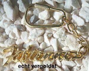 Geschenk- & Werbeartikel Edler SchlÜsselanhÄnger Fabien Vergoldet Gold Name Keychain Weihnachtsgeschenk Uhren & Schmuck