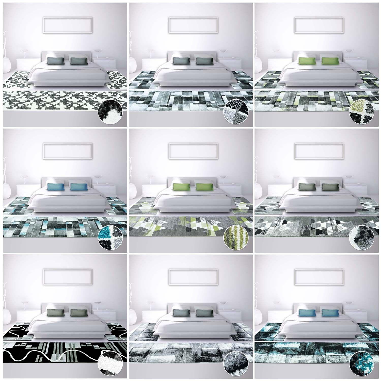 Letto bordatura Tappeto Moderno alfiere moda a quadri-strisce pattern astratti Designs