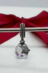 Genuine-Authentic-Pandora-Sterling-Silver-Hanging-Moon-amp-Star-Bead-791392CZ
