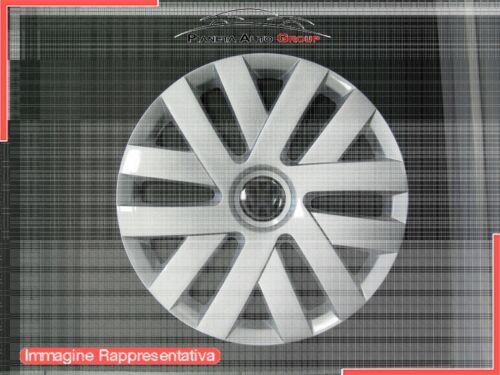 Copricerchi Coppa Ruota Equivalente Volkswagen Polo 2009 15 pollici 493 Singolo