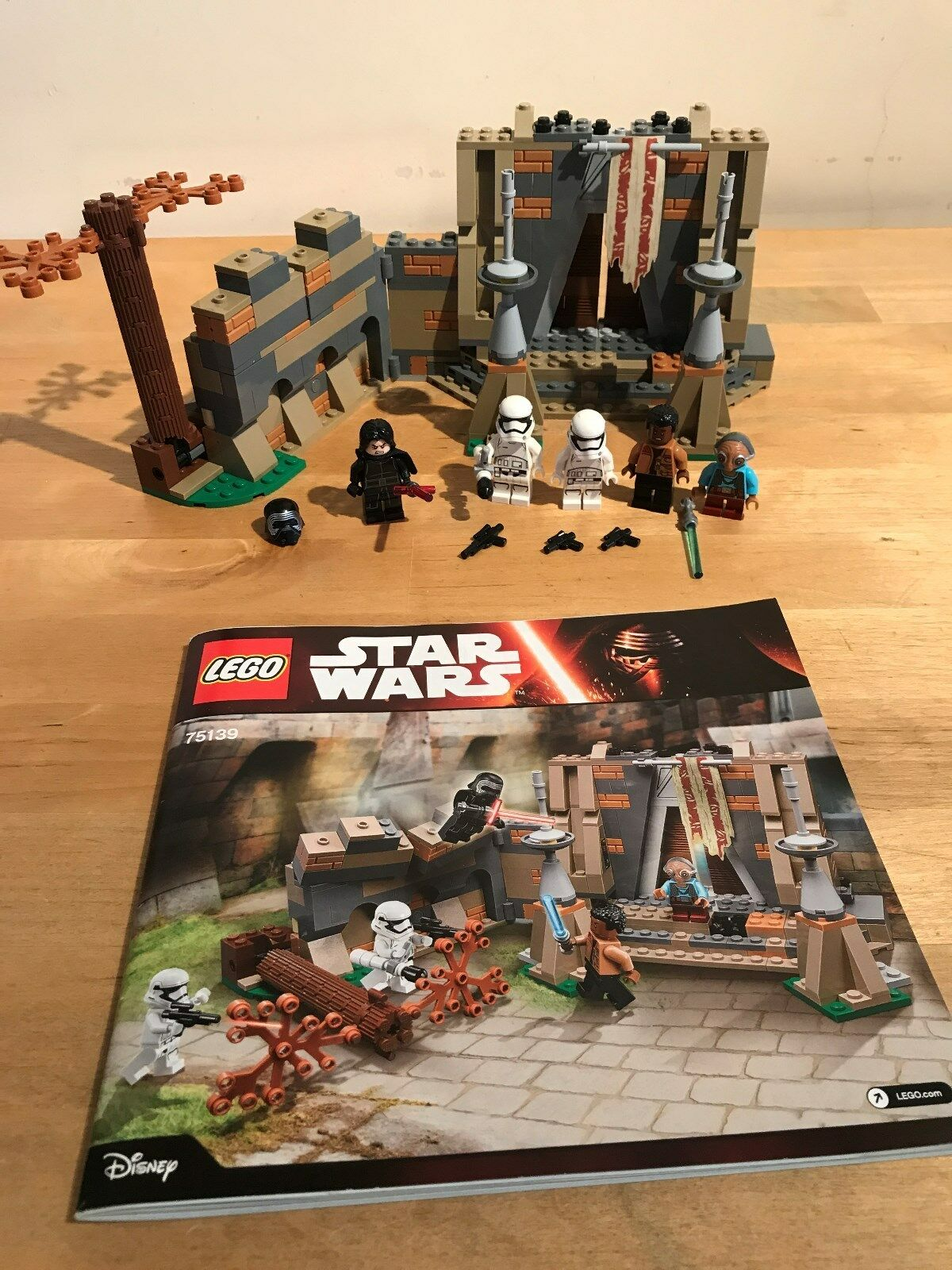 Lego Star Wars 75139-Bataille Sur takodana (boxed)