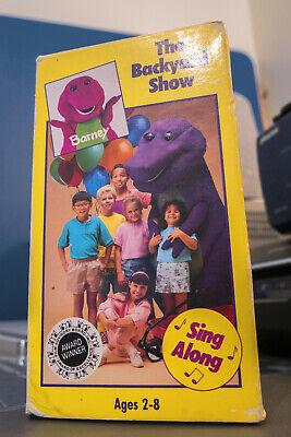 Barney and Backyard Gang - Backyard Show VHS GREAT COND ...