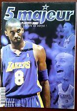 5 MAJEUR n°120 de 5/2003; Phil Jackson/ Ducan/ Interview Malik Rose/ Payton