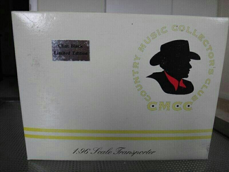Club de coleccionistas de música country 1 96 Transportador Clint Negro Edición Limitada