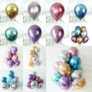 50PCS-12-034-Metallic-Latex-Balloons-Chrome-Bouquet-Wedding-Birthday-Party-Decor