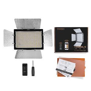 YONGNUO YN600L II YN600II 5500K YN600 600 RA CRI 95 Pannello LED Luce per DSLR Cam