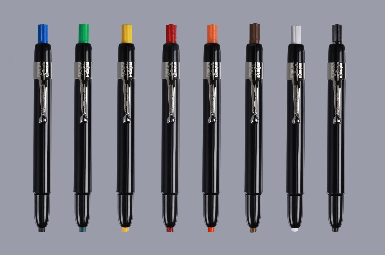 Color: Yellow Grease Pencils//China Marking Pencils//Wax Pencils 72 Refill Leads Listo 1620 and 162 Marking Pencils Kit 12-Pencils, 72-Refills, Yellow 12 Pencils 1 x Orange Pencil Included.