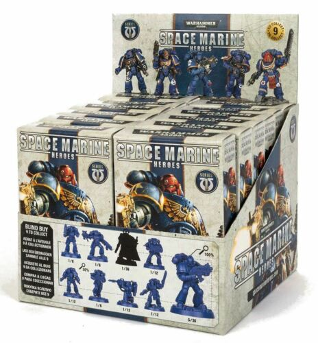 12 Pcs CDU Warhammer Space Marine Heroes-Series 1 aveugles acheter de Collection