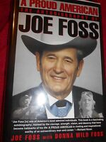 "A Proud American by Donna W. Foss and Joe Foss ""Autographed"" (1992, Hardcover)"