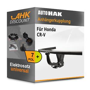 Für Honda CR-V 04.2015-08.2018 AUTO HAK Anhängerkupplung starr 7polig AHZV NEU
