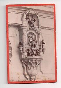 Vintage-CDV-The-Zytglogge-Grand-Horloge-Bern-Switzerland-M-Vollenweider-Photo