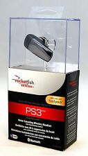 Rocketfish RF-GPS31126 PS3 Wireless Gaming Headset Noise-Canceling Bluetooth ear