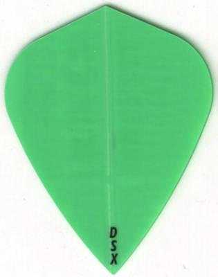 3 per set Bright Green Dimplex Dart Flights