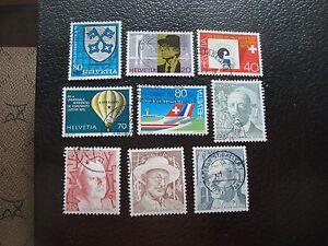Switzerland-Stamp-Yvert-and-Tellier-N-1075-A-1083-Obl-A01-Stamp-Switzerland