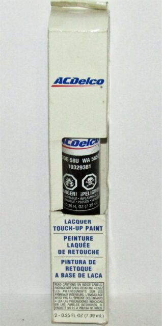 Genuine GM ACDelco Black Granite Metallic Touch Up Paint Code 58U WA565Q GAR