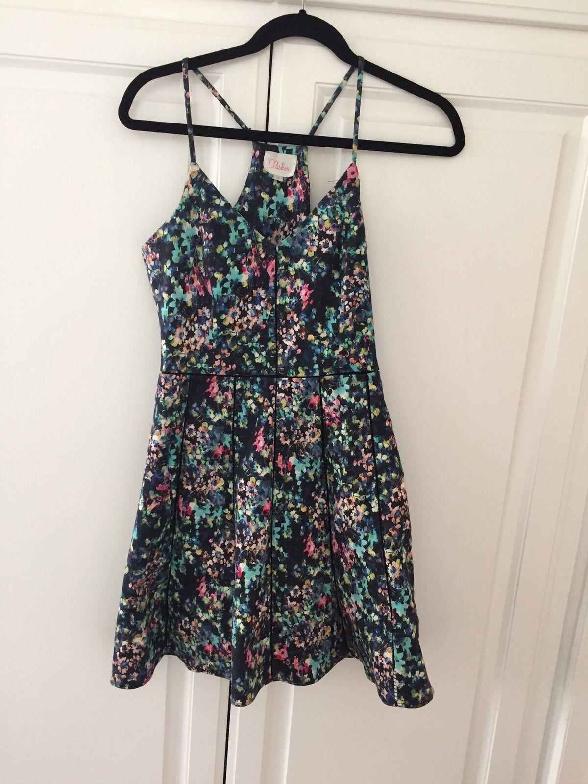 Parker Floral Dress Size Small