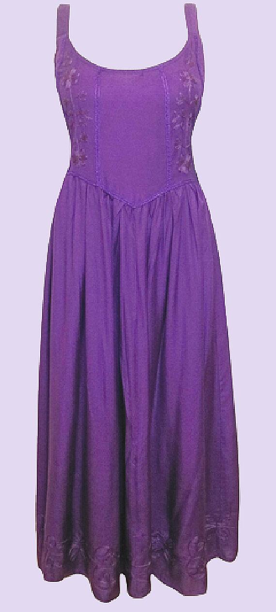 Nuevo Eaonplus purple Renacimiento Bordado Vestido Princesa  16