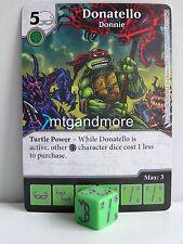 Dice Masters - #014 Donatello Donnie - Teenage Mutant Ninja Turtles