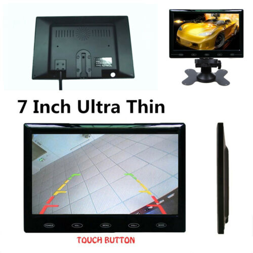 Auto Switch 7/'/' 16mm HD TFT LCD Color Car Rear View Monitor PAL//NTSC System