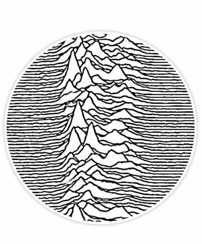 """Ian Curtis Joy Division Unknown Pleasures Sticker Decal Vinyl WALL /""""SIZES/"""""""