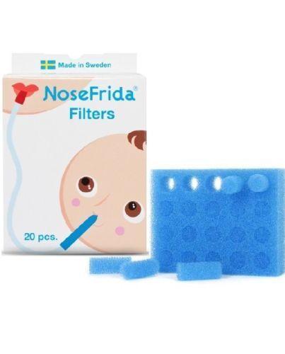 Packung Mit 20 NoseFrida Ersatz Aspirator Filter