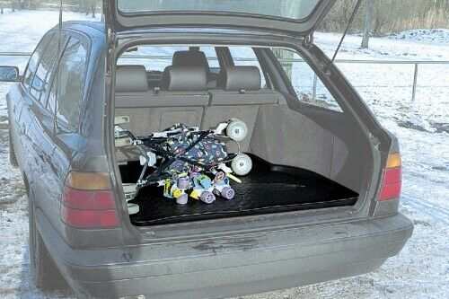 Carbox forma Tappetino Vasca vano di carico Vasca Tappetino bagagliaio BMW 5er Touring e39//5