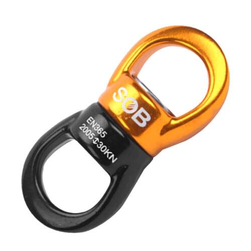 30KN Rotational Device Climbing Safety Swivel Rotator for Rock Climbing