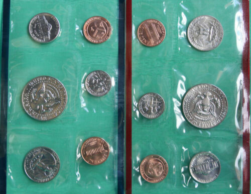 1987 P and D 10 Coin Annual Uncirculated Set USA US Mint BU Coins