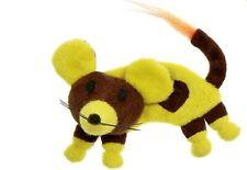 Die Echtfell-Spielzeugmaus ist die ideale Laufbahn für Katzen jeweils 5 cm