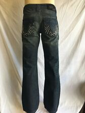 ANTIK Denim *BOOTCUT Jeans Men's NWT Medium Blue W/STUDDED Pocket *40x34