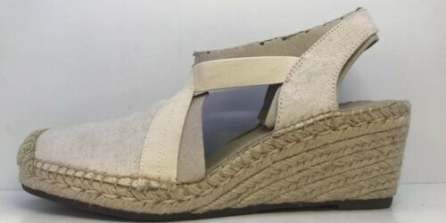 5d Size Slip On Womens Beige Espadrille Clarks Shoes Uk awfU7x