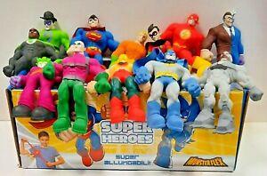 MONSTERFLEX DC SUPER HEROES ALLUNGABILI SCEGLI QUELLI CHE VUOI + 1'-2'-3' serie