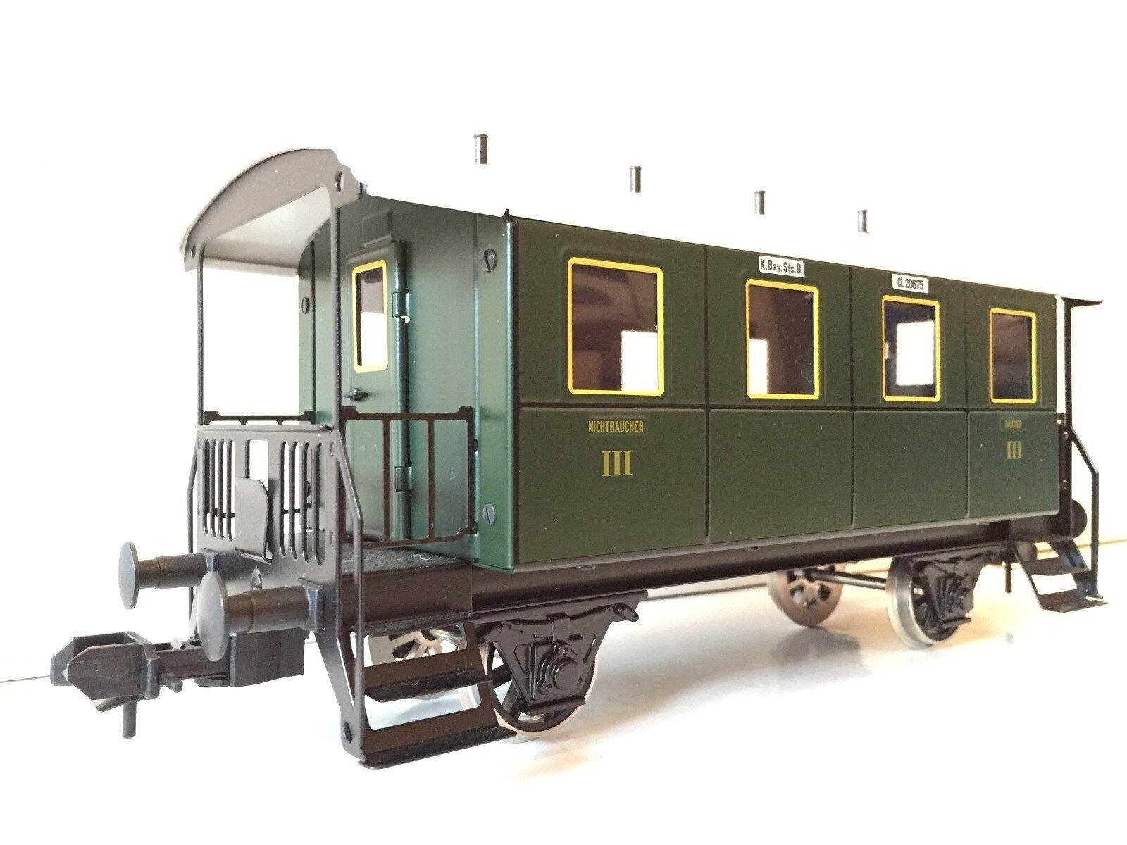marklin 1 gauge passenger auto local train auto 3. classe nuovo Condition