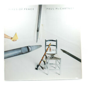 PAUL-McCARTNEY-Pipes-of-Peace-12-034-LP-Vinyl-Record-1983-Columbia-Records
