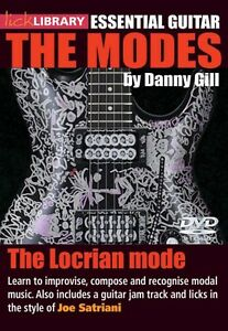 100% Vrai The Locrian Mode Joe Satriani Essential Guitar: The Modes Series Lick 000393192