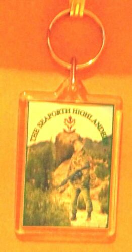 The Seaforth Highlanders key ring..
