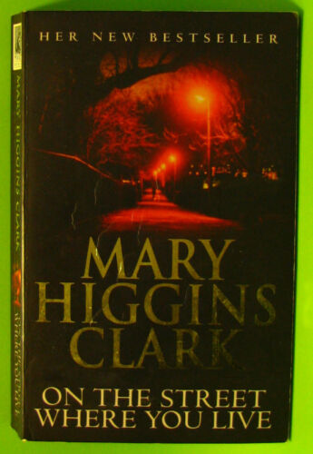 1 of 1 - #JJ2, Clark, Mary T. ON THE STREET WHERE YOU LIVE - Softcover