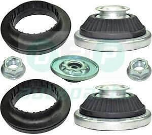 Para-Opel-Astra-H-MK5-Delantero-Suspension-Puntal-Superior-Mounts-amp-Rodamientos-Par
