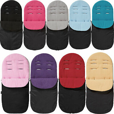 Footmuff Cosy Toes Compatible with Cybex Pram Pushchair Black Jack