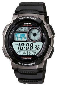 NEW-Casio-Digital-AE1000W-1B-Watch-Black