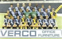 COLLECTION OF #15 WYCOMBE WANDERERS FOOTBALL TEAM PHOTOS