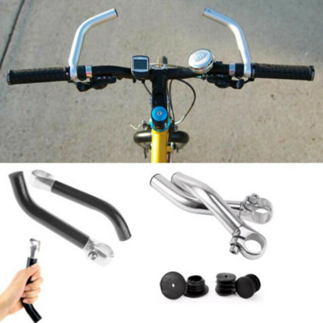 NEW Bicycle HANDLEBAR ENDS black alloy bar ends