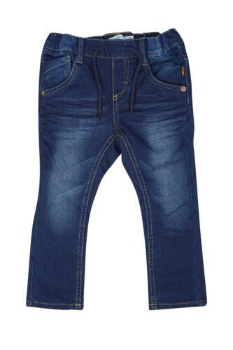 NAME IT baby Tin Denim Jungen Jeans Slim Fit Kinder Jungs Hose Blau Stretch