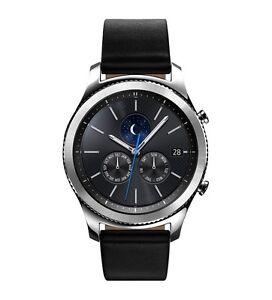 """Site Officiel Samsung Gear S3 Classic Smart Watch Sm-r770 1.3"""" Super Amoled 1.0ghz Bluetooth-afficher Le Titre D'origine Un BoîTier En Plastique Est Compartimenté Pour Un Stockage En Toute SéCurité"""