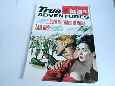 (#ABC) FEB 1964 TRUE ADVENTURES vintage MENS ADVENTURE magazine BURN THE WITCH