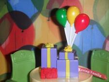 Fisher Price Loving Family Dollhouse Sweet Sounds Birthday Balloons Presents