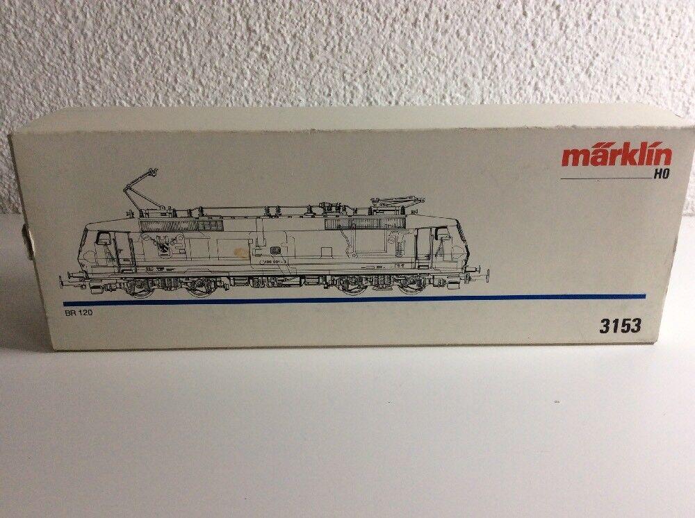 Märklin Märklin Märklin Modelleisenbahn H0  BR 120  3153 E- Lok  | Hohe Qualität und Wirtschaftlichkeit  f05154