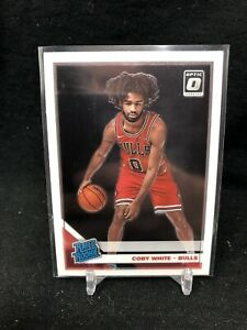 2019-20-Panini-Donruss-Optic-Rated-Rookie-Coby-White-RC-180-Chicago-Bulls-U12