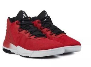 384b09ac8 New Nike JORDAN ACADEMY Mens Basketball Shoes Gym Red 844515 600 Sz ...