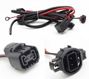 5202 9009 2504 h16 ps24w relay wire harness adapter kit for fog rh ebay com GM Radio Wire Adapter GM Radio Adapter Mounting